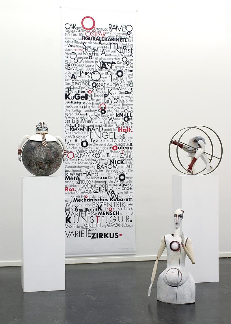 Objekte von Sylvia Wanke