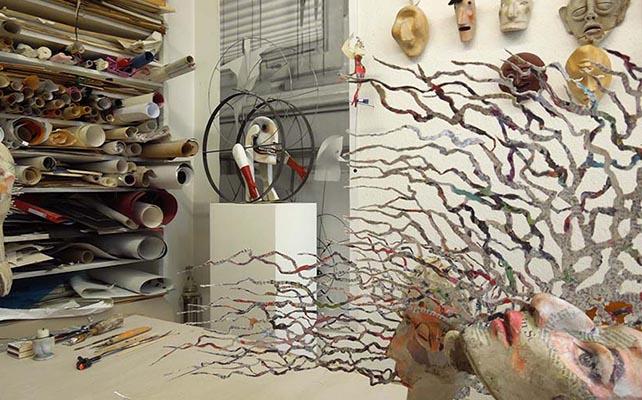 Kunst dort erleben, wo sie entsteht - Atelier Sylvia Wanke