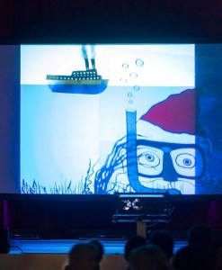 Das wanke.ensemble spielt im Audi-Kulturforums Neckarsulm. (Bild: Schattenspiel)